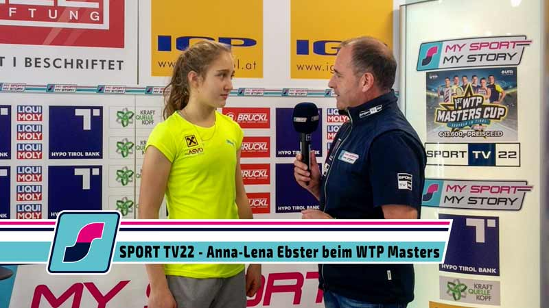 SPORT TV22: Tennis WTP Masters Cup in Seefeld - Anna-Lena Ebster