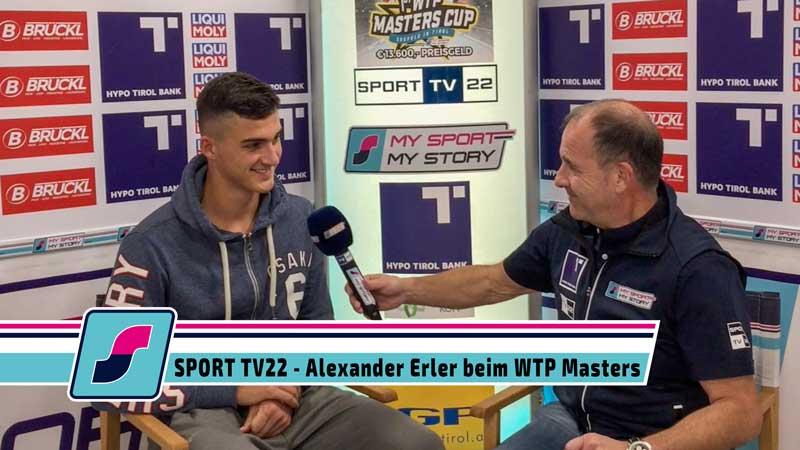 SPORT TV22: Tennis WTP Masters Cup in Seefeld - Alexander Erler