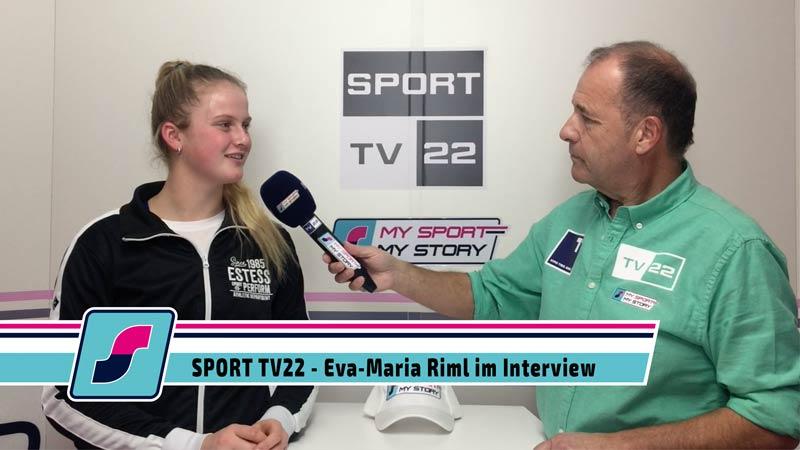 SPORT TV22: Tennisspielerin Eva-Maria Riml im Interview