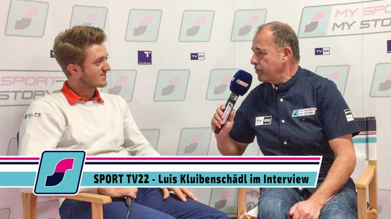 SPORT TV22: Golfer Luis Kluibenschädl im Interview