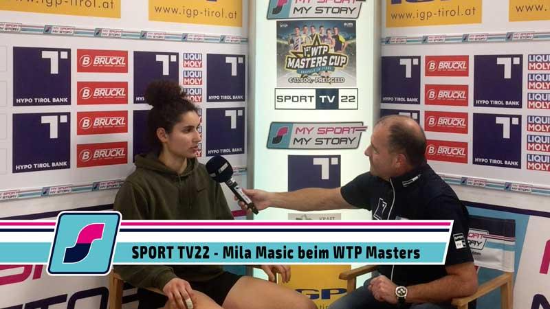 SPORT TV22: Tennis WTP Masters Cup in Seefeld - Mila Masic