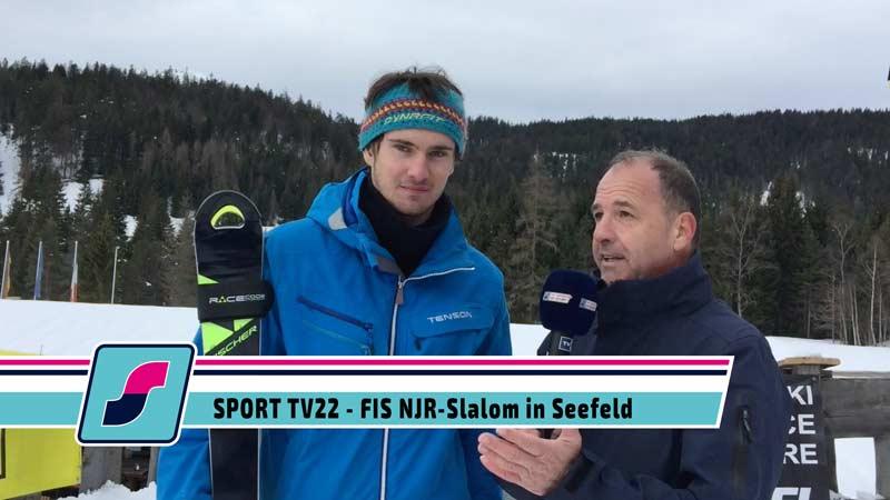 SPORT TV22: FIS NJR Rennen in Seefeld auf der Seewaldalm, 03.01.2020