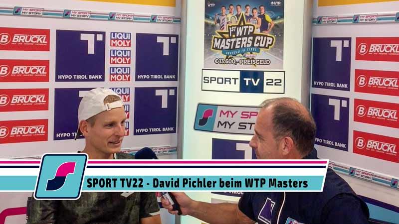 SPORT TV22: Tennis WTP Masters Cup in Seefeld - David Pichler