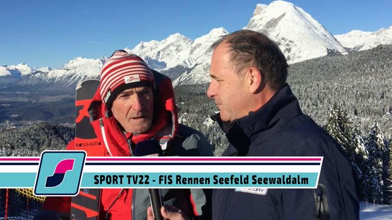 FIS Rennen in Seefeld auf der Seewaldalm, 30.12.2019