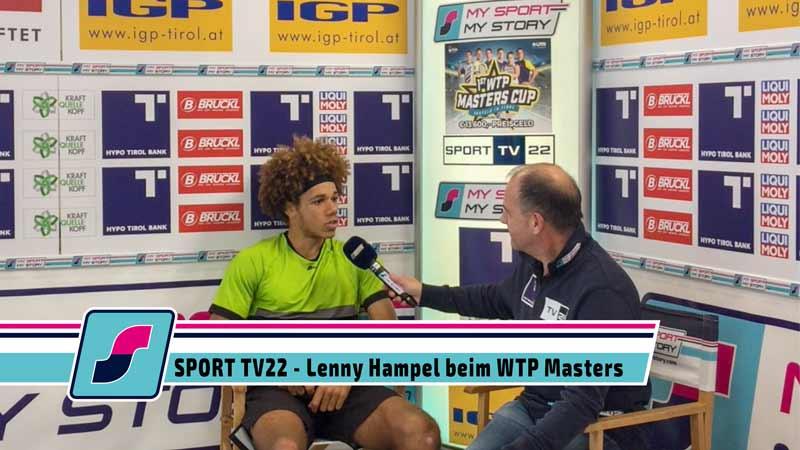 SPORT TV22: Tennis WTP Masters Cup in Seefeld - Lenny Hampel