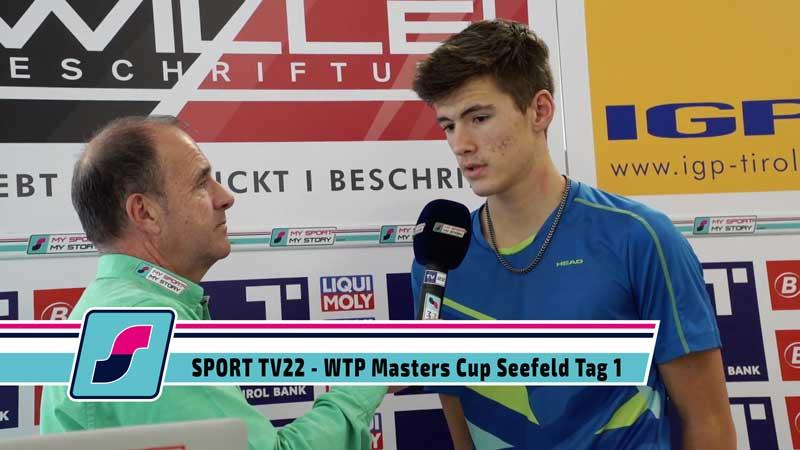 SPORT TV22: Tennis WTP Masters Cup in Seefeld Tag 1