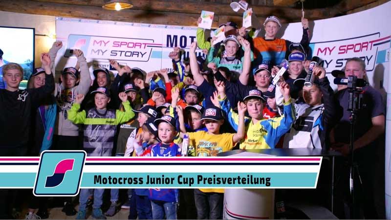Die große Preisverteilung des MySportMyStory Motocross Junior Cup
