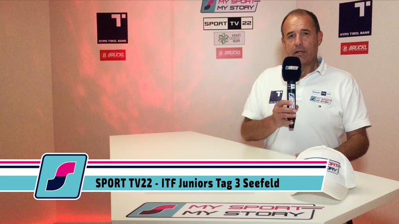 SPORT TV22: ITF Juniors Tag 3 Seefeld