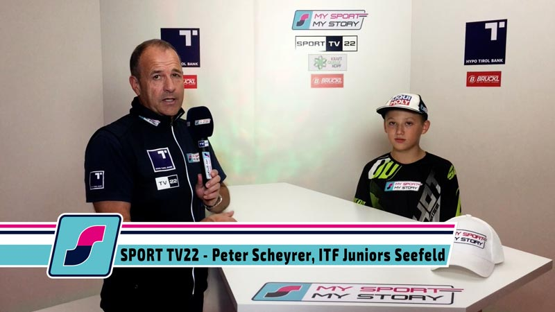 SPORT TV22: Motocrosser Peter Scheyrer, ITF Juniors Turnier in Seefeld