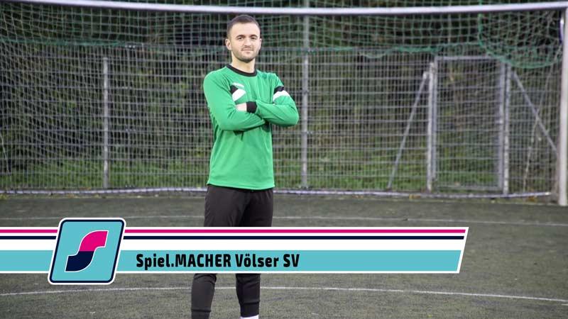 Spiel.MACHER Qendrim Jahaj vom Völser SV