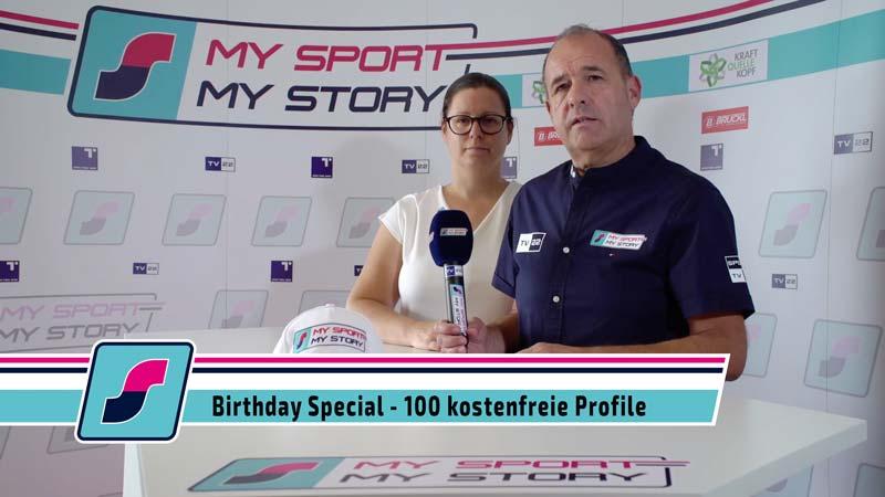 Birthday Special: 100 kostenfreie Heldenprofile!