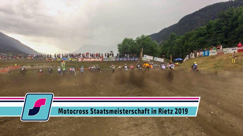 Motocross Staatsmeisterschaft in Rietz 2019