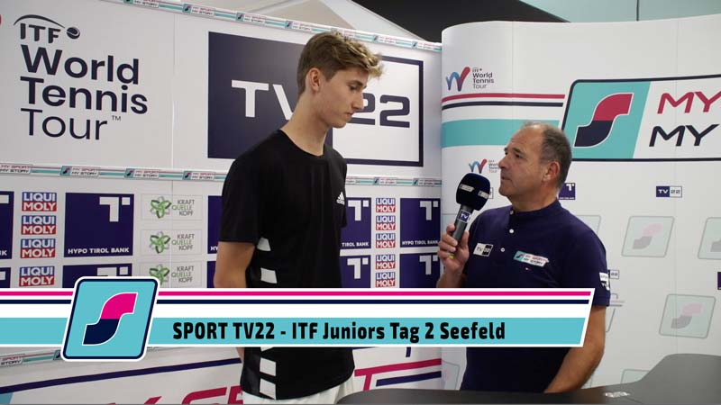 TV22: ITF Juniors Tag 2 Seefeld