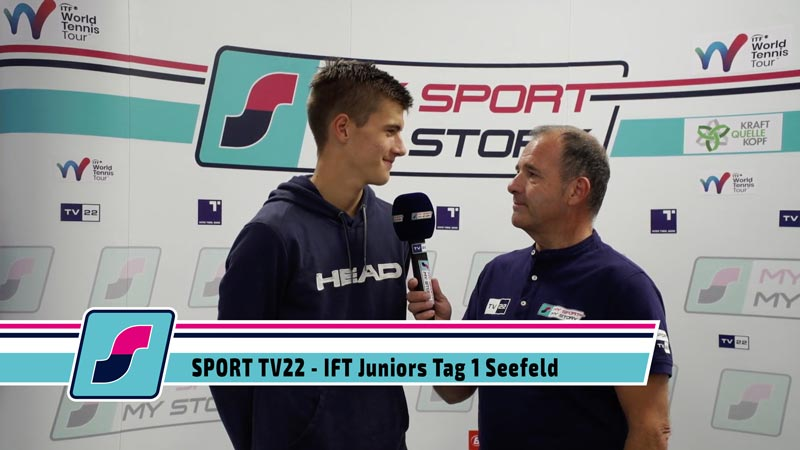 TV22: ITF Juniors Tag 1 Seefeld