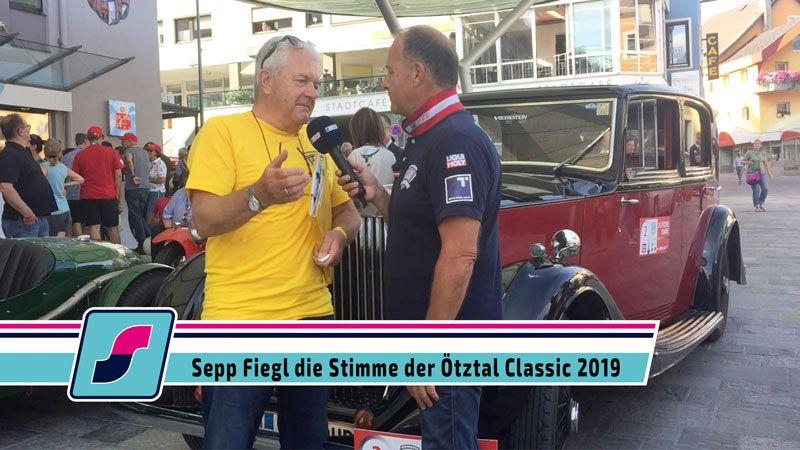 Sepp Fiegl die Stimme der Ötztal Classic