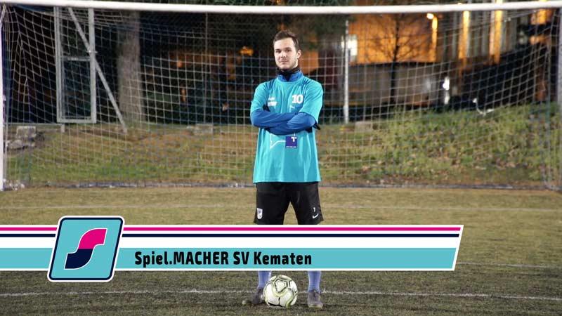 Spiel.MACHER Maximilian Plattner vom SV Kematen