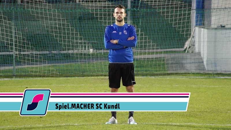 Spiel.MACHER Aleksandar Škrbo vom SC Kundl
