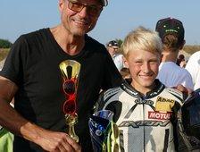 Erster Sieg im ADAC Mini-Bike-Cup!