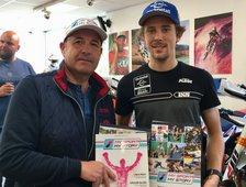 Treffen bei Kini Phillip Öttl und Dietmar Präsentieren  das Erste  My Sport My Story Magazin
