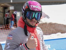 Slalom - erster Top 10 Platz