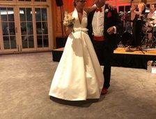 Hochzeit meiner Tochter mit Simon, Monika und Dietmar mit ihren schnellen Tanzschritten