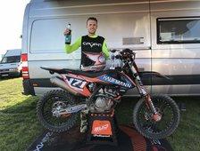 3. Platz Gesamtwertung AunerCup MX2