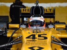 Formel 1 Test mit Lotus