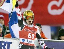 FIS Weltcup - 4. Platz Slalom