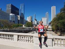 Marathon in Chicago