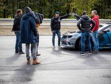 Dreharbeiten für RTL2 / Grip das Motormagazin