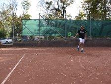 Finale im Einzel beim ITF Juniors Grade 5 Turnier in Lettland