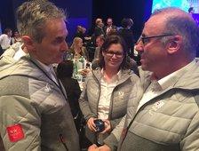 Olympia Verabschiedung der Para Austria Mannschaft Pia Schorer als Mental Trainerin für die Komplette Manschaft Verandwortlich